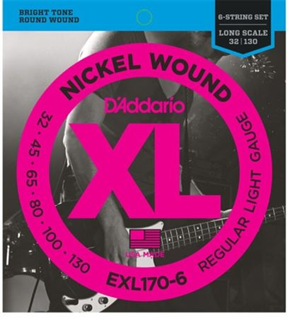 DAddario XL32-130 6 String Bass Guitar Strings
