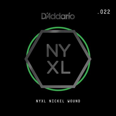 Daddario NYNW022 NYXL Single Nickel Wound Guitar String .022