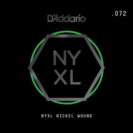 Daddario NYNW070 NYXL Single Single Wound Guitar String .070