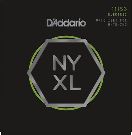 Daddario NYXL1156 NYXL Medium Top Extra Heavy Bottom 11-56