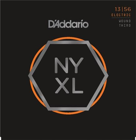 Daddario NYXL1356W Medium Wound 3rd String Set 13-56