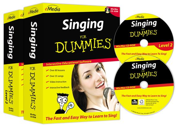 eMedia Singing For Dummies Deluxe Software