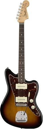 American Original 60s Jazzmaster Rosewood 3-Color Sunburst with Case