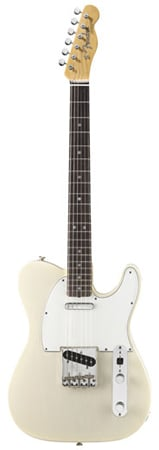 Fender American Vintage 64 Telecaster Aged White Blonde with Case