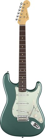 Fender American Vintage 59 Stratocaster Sherwood Green with Case