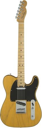 Fender American Elite Telecaster Maple Neck Butterscotch Blonde w/Case