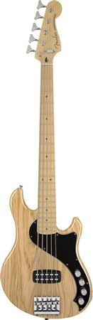 Fender Deluxe Dimension Bass V 5-String Bass Maple wBag