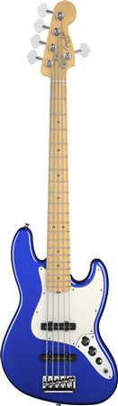 Fender American Standard Jazz V 5 String Maple with Case