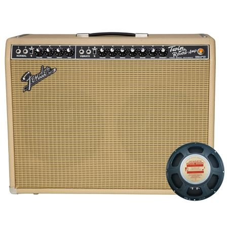 Fender 65 Twin Reverb Limited Edition British Tan 2 Jensen C12K
