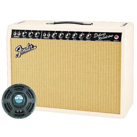 Fender 65 Deluxe Reverb Guitar Combo Amplifier Exclusive Run