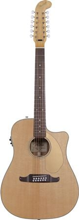 Fender Villager SCE 12-String Acoustic Electric Guitar