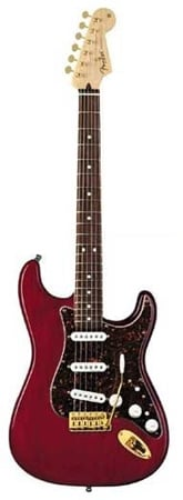 Fender Deluxe Players Strat Rosewood Fingerboard with Gigbag