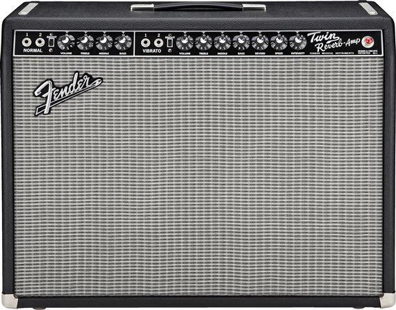 Fender 65 Twin Reverb 85 Watt 2x12 Guitar Combo Amplifier