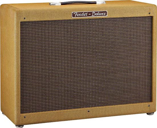 Fender Hot Rod Deluxe 112 Amp Extension Speaker Cab Lacquered Tweed