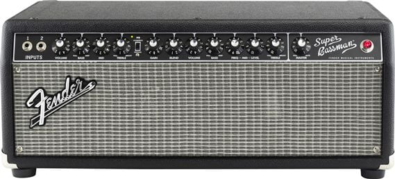 Fender Super Bassman Tube Bass Amplifier Head