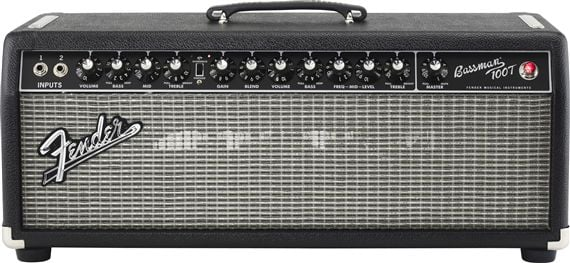 Fender Bassman 100T Tube Bass Amplifier Head