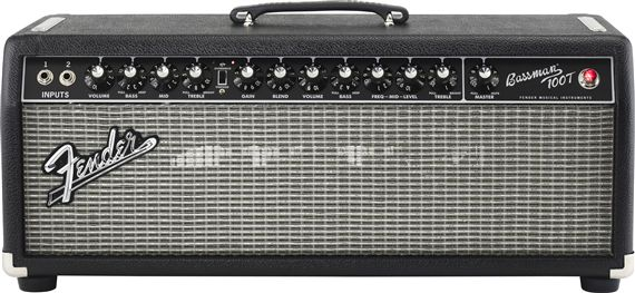 Fender Bassman 100T Tube Bass Head 100W