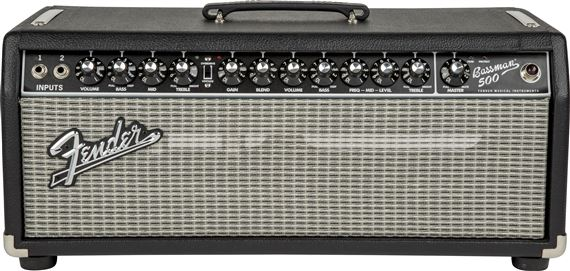 Fender Bassman 500 Bass Tube Amplifier Head