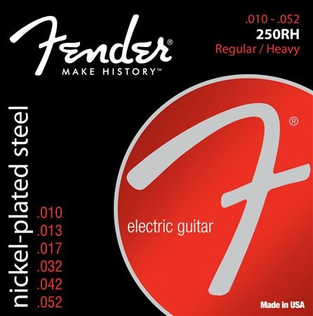Fender Super 250RH Nickel Plated Steel Guitar Strings