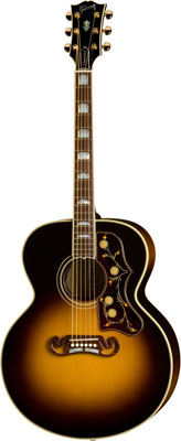 Gibson SJ-200 Standard Acoustic Electric Guitar with Case