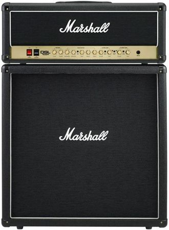 Marshall DSL100 Head and MX412B Cab 100 Watt Guitar Amp Half Stack