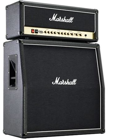 Marshall DSL100 Head and JCM1960A 4x12 Cab 100 Watt Guitar Amp Stack