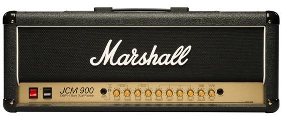 Marshall JCM900 4100 Dual Reverb 100 Watt Guitar Amp Head