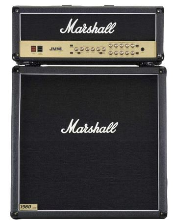 Marshall JVM205H Head and JCM1960A Cab 50 Watt Guitar Amp Half Stack