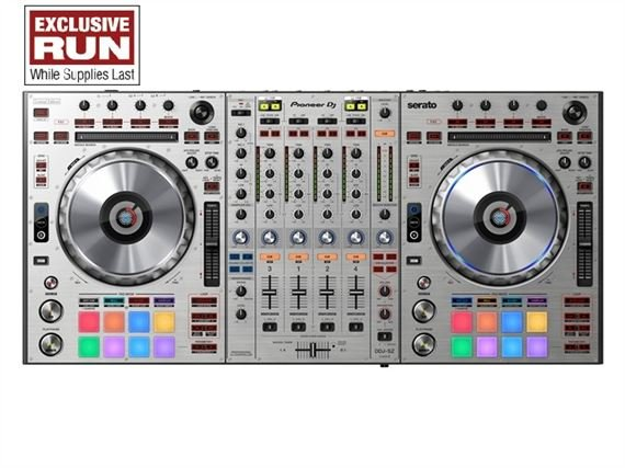 Pioneer DDJSZ DJ Controller for Serato in Silver - FREE EXTENDED WARRANTY