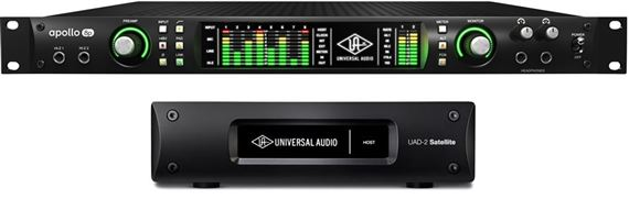 Universal Audio Apollo 8P Quad with Satellite Thunderbolt Octo
