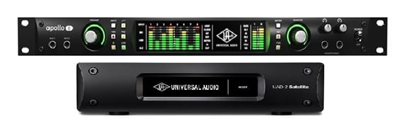 Universal Audio Apollo 8 Quad with Satellite Thunderbolt Octo