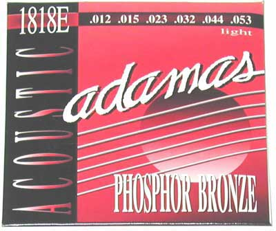 Adamas 1818E Phosphor Bronze Acoustic Guitar Strings