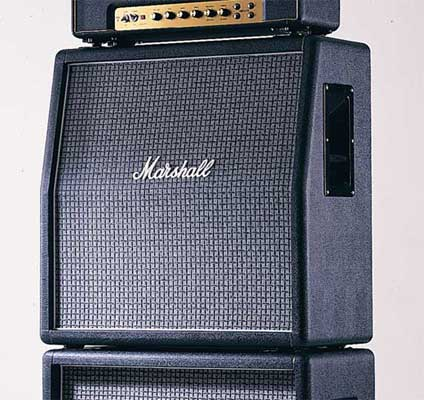 Marshall JCM1960AX 4x12 Angled Guitar Speaker Cabinet