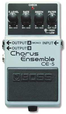 Boss CE5 Stereo Chorus Ensemble Pedal