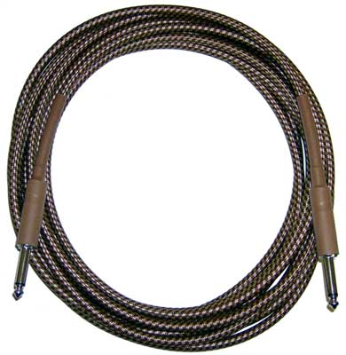 CBI Braided 6 Foot Guitar Instrument Cable