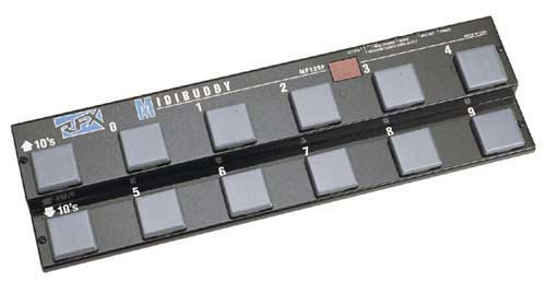 RFX Midibuddy MP128 midi pedal board - $80 - Live Gear