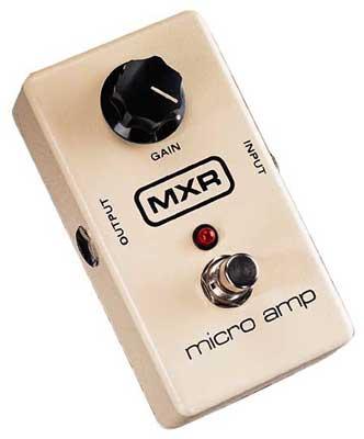 MXR M133 Micro Amp Boost Pedal