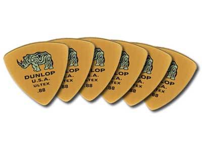 Dunlop 426P Ultex Triangle Guitar Picks 6 Pack