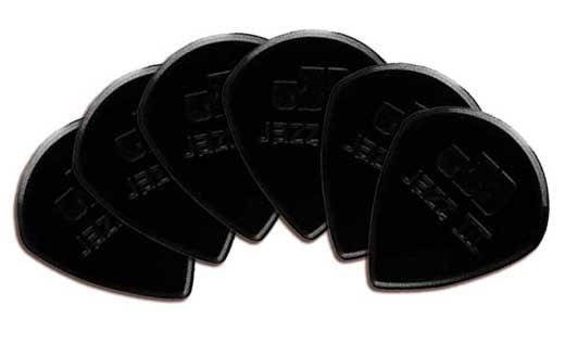 Dunlop Nylon Jazz III Guitar Picks 6 Pack