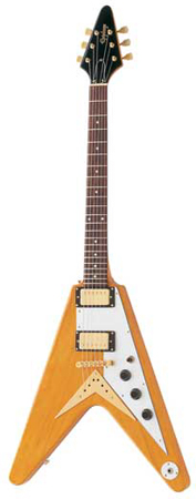 Epiphone 1958 Korina Flying V Electric Guitar