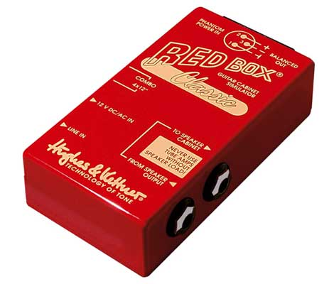 Hughes and Kettner Red Box Classic Passive Direct Box