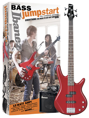 Ibanez IJXB190 Jumpstart Electric Bass Guitar Package