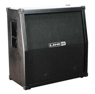 Line 6 Spider 4x12 Angled Guitar Speaker Cabinet