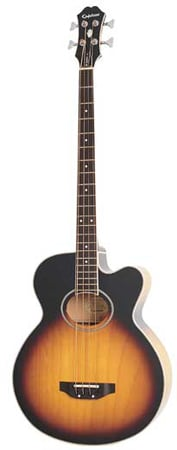 Epiphone El Capitan IV Acoustic Electric Bass Guitar