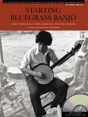 MSI Starting Bluegrass Banjo Book with CD