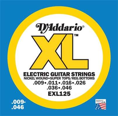 DAddario EXL Nickel Wound Electric Guitar Strings