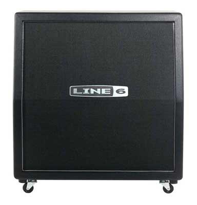 Line 6 Spider Valve 4x12 Slant Speaker Cabinet