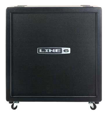 Line 6 Spider Valve 4x12 Straight Guitar Cabinet