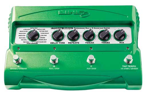Line 6 DL4 Delay Modeler Pedal and Loop Sampler
