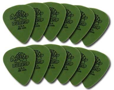 Dunlop 4181 Tortex Standard Guitar Picks 12 Pack